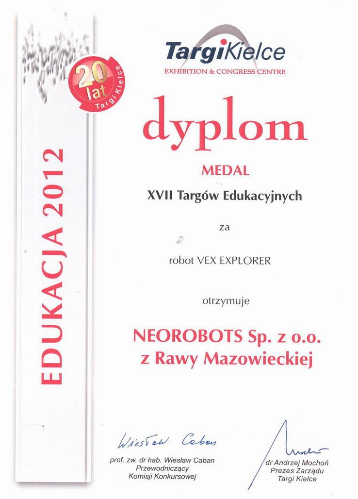 Dyplom Kielce